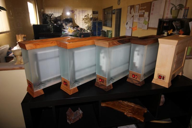 Nanoaircleaner wood prosklené