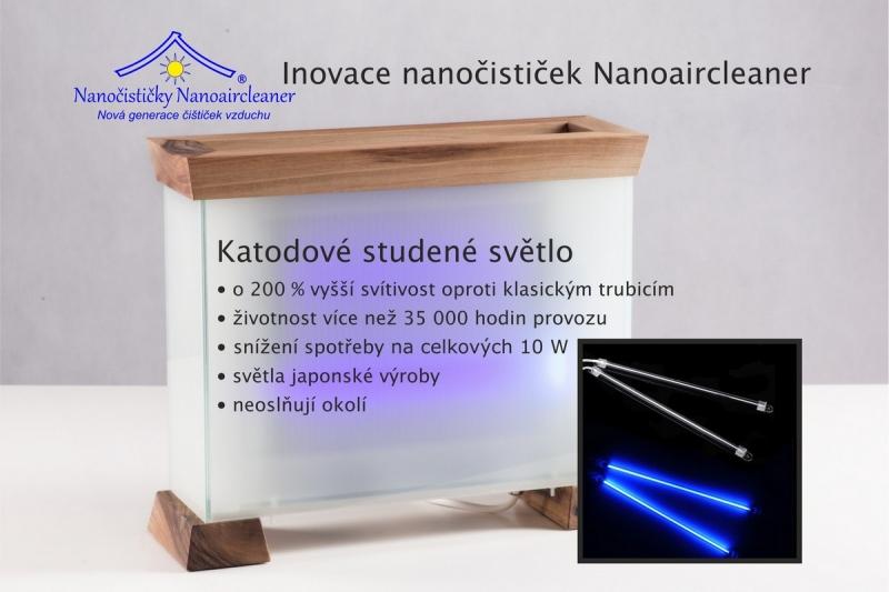 Inovace nanočističek nanoaircleaner